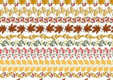 Free vector Floral wreath pattern #4461