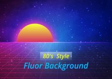 Free vector Fluor background design #9448