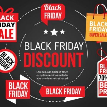 Free vector Free Black Friday Vector Icons #6607