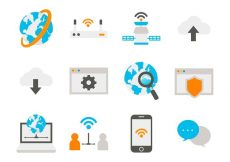 Free vector Free Internet Icons Vector #4311