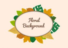 Free vector Free Leaf Background #10528