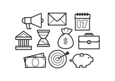 Free vector Free Line Icons Business Vector #6078