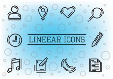Free vector Free Linear Vector Icons #7481