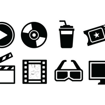 Free vector Free Movie Icon Set #9707