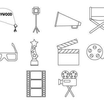 Free vector Free Movie Icon Vector #7754