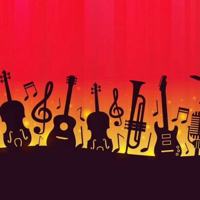Free vector Free Music Background Vector #10632