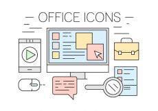 Free vector Free Office Icons #4694
