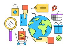 Free vector Free Shopping Icons #8571
