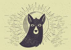 Free vector Free Vector Dog Illutration #8289