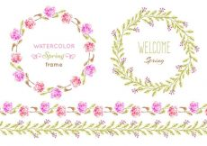 Free vector Free Vector Floral Patter Frames #11166
