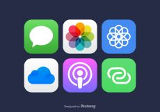 Free vector Free Vector Mobile App Icons #5426