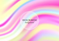 Free vector Free Vector Pink and Yellow Hologram Background #11590