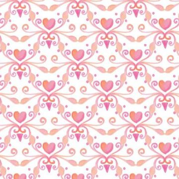 Free vector Free Vector Watercolor Heart Royal Background #11644