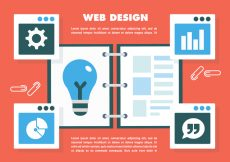Free vector Free Web Design Vector #8603