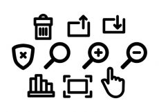 Free vector Free Website Icons Vector #6237