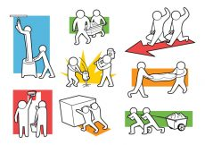 Free vector Free Working Together Icons #8020