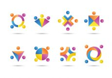 Free vector Free Working Together Icons #7852