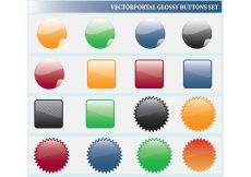 Free vector Glossy Web Icons #7912