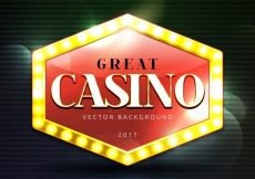 Free vector Great casino background with bokeh effect #6515
