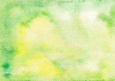 Free vector Green and yellow watercolor background #9624