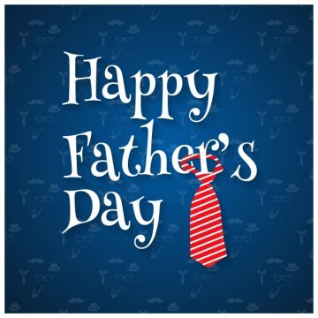 Free vector Happy fathers day design with tie #8520