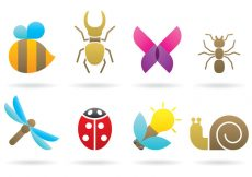 Free vector Insect Logos #8977