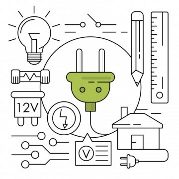 Free vector Linear energy icons #6220