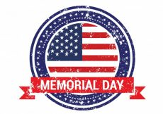 Free vector Memorial day badge design #9261