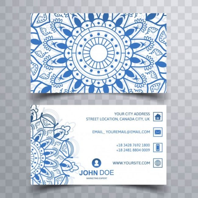 Free vector Modern business card #11951