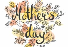 Free vector Mother's day background hand drawn #4095