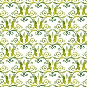 Free vector Olive Green Vector Watercolor Royal Background #11620