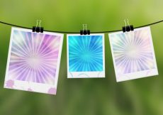 Free vector Photographies background design #10826