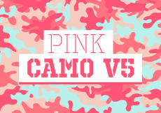Free vector Pink Camo Vector Background Texture V5 #11364