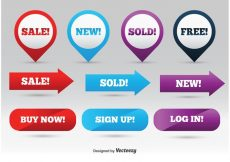 Free vector Promotional Web Elements #7520