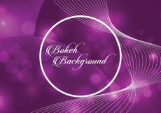 Free vector Purple Bokeh Background #10809