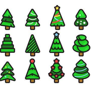 Free vector Sapin Vector Icon Pack #4612