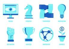 Free vector Set Of Business Icons #4696