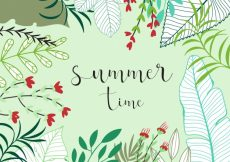 Free vector Summer time background #6940