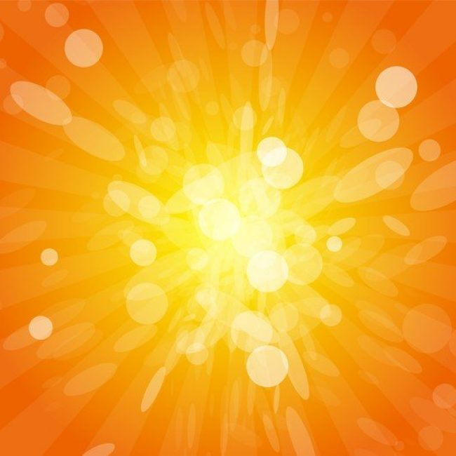 Free vector Sun Beams With Orange Yellow Blurred #4435