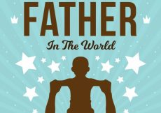 Free vector Sunburst background of father with his son #8243