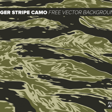 Free vector Tiger Stripe Camo Free Vector Background #12392