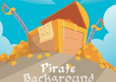 Free vector Treasure chest background #8986