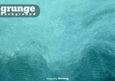 Free vector Turquoise Grunge Vector Background #10434
