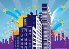 Free vector Urban Building Graphics #5049