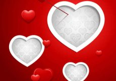 Free vector Valentine Vector Red Background #5025