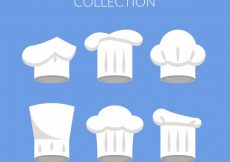 Free vector Variety of flat chef hats #7923