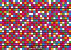 Free vector Vector 3D Colorful Tiles – Vector Abstract Background #10502