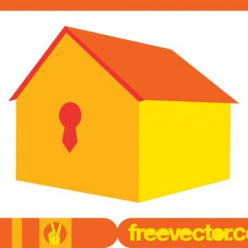 Free vector 3D House Icon #9649