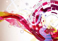 Free vector vector abstract background design #5091