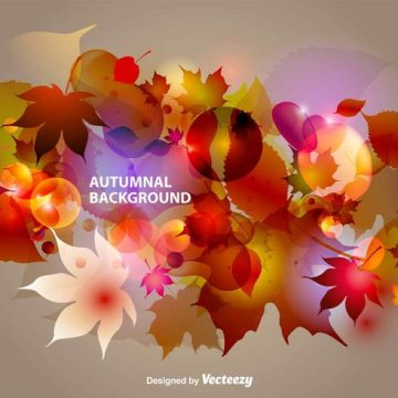 Free vector Autumnal Abstract Background #11698